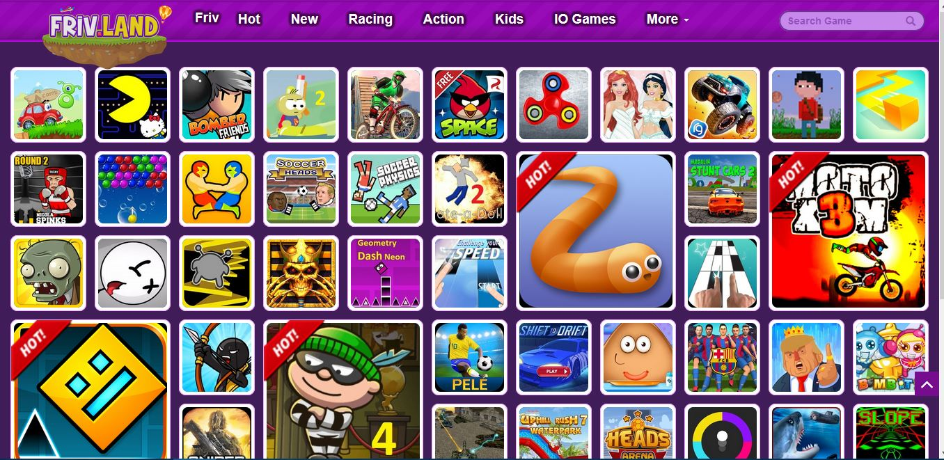 free online games for kids shooting racing and more all